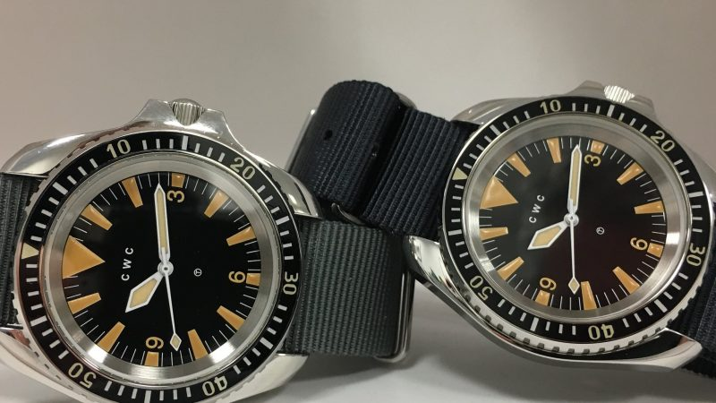 CWC 1980 Reissue Royal Navy Diver